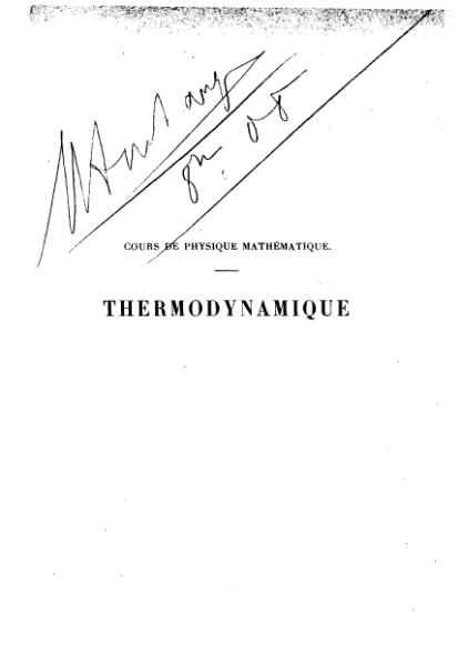 File:Poincaré - Thermodynamique (ed. 1908).djvu