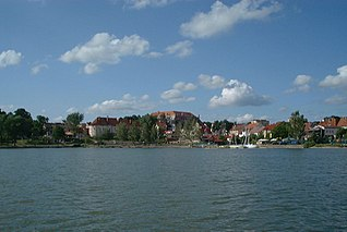 Ryn Place in Warmian-Masurian, Poland