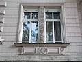 Polish Embassy in Hungary. Window. Bajza Street side. - Budapest.JPG