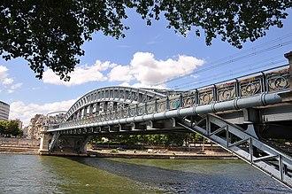 Pont Rouelle - Image: Pont Rouelle Paris 15e 002