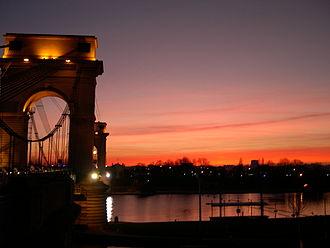 Ivry-sur-Seine - Image: Pont du port à l'anglais