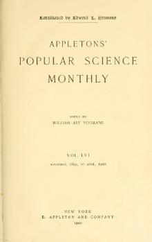 Popular Science Monthly Volume 56.djvu