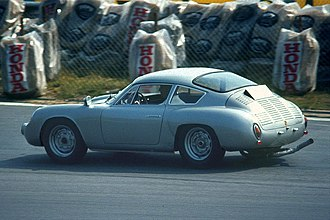 1963 World Sportscar Championship - Porsche won Division III with various 356 models such as this 356 B-Carrera GTL-Abarth