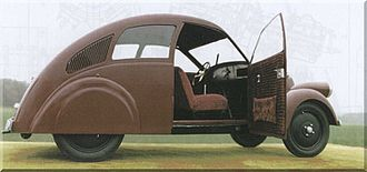 Volkswagen Beetle - Model of the 1932 Porsche Type 12, Nuremberg Museum of Industrial Culture