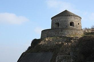 Canton of Bayeux - Vauban tower in Port-en-Bessin-Huppain