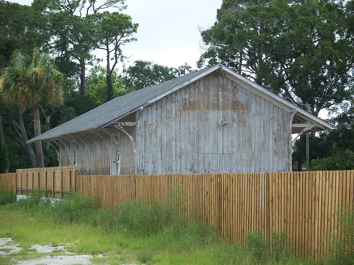 Port orange florida east coast railway freight depot for Porte orange