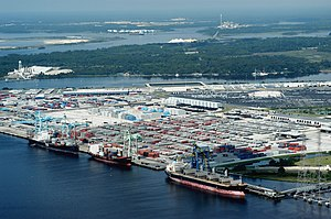 Port of Jacksonville - Image: Port of jacksonville