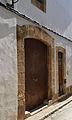 Portals d'una casa del carrer sant Josep, Xàbia.JPG