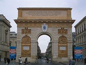 Porte du Peyrou - The Porte du Peyrou.