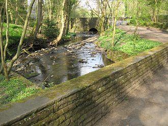 Porter Brook - Hangingwater Road Bridge