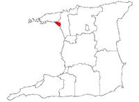 Port of Spain på kartan