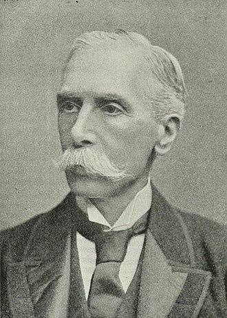 Alfred Austin - Image: Portrait of Alfred Austin