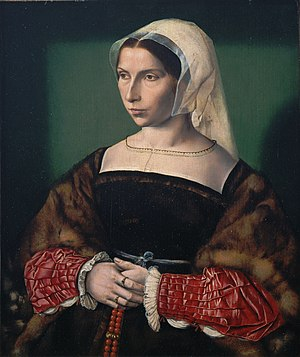 Anne Stafford, Countess of Huntingdon - Anne Stafford, c. 1535, by Ambrosius Benson