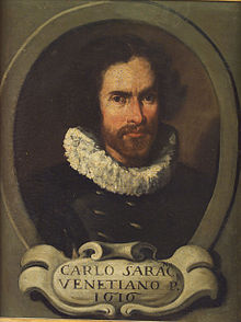alt=Description de l'image Portrait of Carlo Saraceni.jpg.