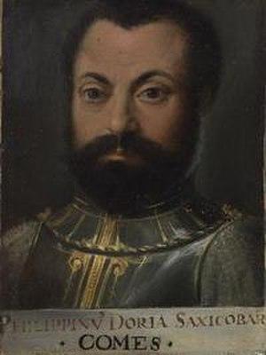 Battle of Pianosa - Filippino Doria