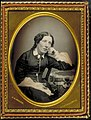 Portrait of Harriet Beecher Stowe, 1852. (10407526525).jpg