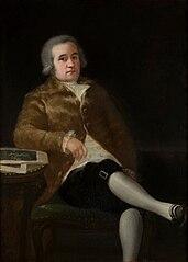 Portrait of Juan Agustín Ceán Bermúdez
