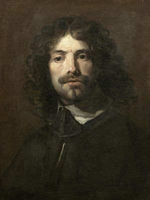 William Dobson - Self-portrait