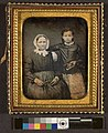Portrait of unidentified older woman and girl (4420685156).jpg