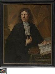Portret van Christophorus Omaar