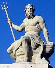 Poseidon sculpture Copenhagen 2005