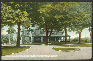 Ridgefield, Connecticut - The Ridgefield School (postcard sent in 1909)