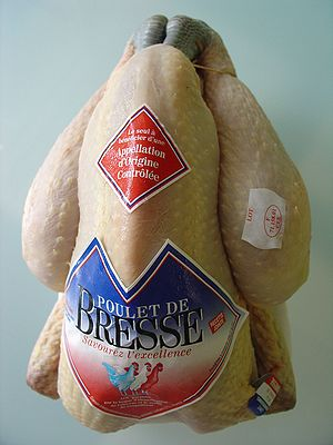 Appellation d'origine contrôlée - Poulet de Bresse