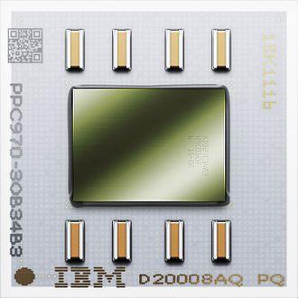 PowerPC 970 - Image: Power PC 970