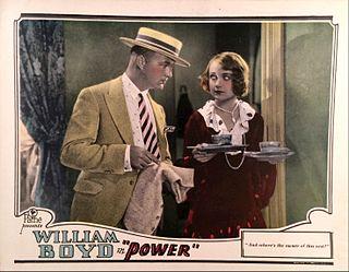 <i>Power</i> (1928 film) 1928 film by Howard Higgin