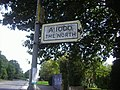 Pre-Worboys sign A1000 Barnet - geograph.org.uk - 1083255.jpg
