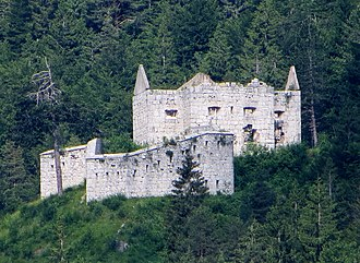 Predil Pass - Image: Predil Pass Austrian fort
