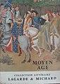 """Première de couverture du Lagarde et Michard """"Moyen-Age"""".jpg"""