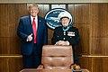 "President Trump Meets with World War II Veteran Hershal ""Woody"" Williams (50305465356).jpg"
