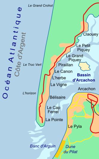 Cap Ferret - Image: Presquile Cap Ferret