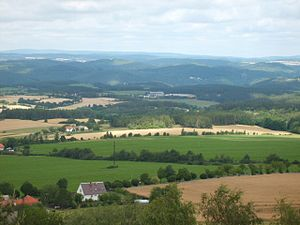 Příbram District countryside