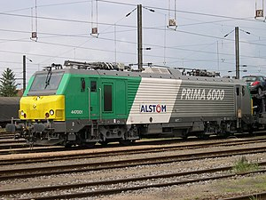 Prima 6000 locomotive picture