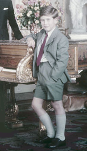 Peter Beck (schoolmaster) - Prince Charles in 1957, the year he joined Beck's school
