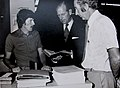Prince Philip at Mulgrave Street Government Printing Office, 1977.jpg