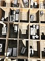 Printing Press letters for long gone, traditional newsprint (41343604484).jpg