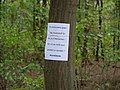 Protest sign in the Hambach forest 01.jpg