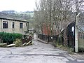 Public footpath and cycle route at Fairlea Mill - geograph.org.uk - 1169980.jpg