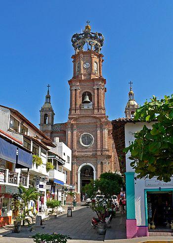 Puerto Vallarta cathedral 1