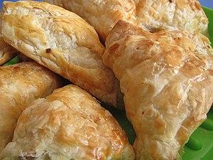 Pirozhki - Puff pastry pirozhki