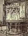 Pulpit in Choir, Exeter Cathedral (3611648314).jpg