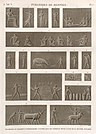 Pyramides de Memphis. Bas-reliefs et fragment d'hiérogliphique sculptés dans les tombeaux situés à l'est de la seconde pyramide (NYPL b14212718-1268185).jpg