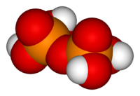 3D model of pyrophosphoric acid