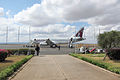 Qatar Airways at Kilimanjaro Airport 2014.jpg