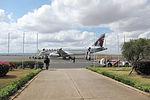 Qatar Airways at Kilimanjaro Airport 2014.jpg