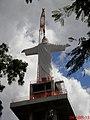 Quando for inaugurado, em Outubro de 2013, será uma dos maiores monumentos religiosos do mundo, contando o pedestal. O Cristo Redentor de Sertãozinho-SP é a maior escultura religiosa da América do Sul - panoramio.jpg