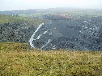 Craven - Quarry near Ingleton